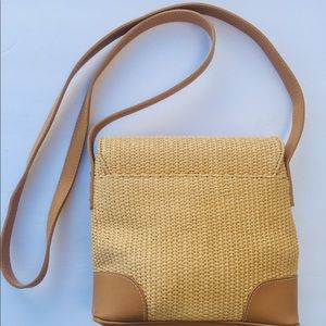 Nine West Bags - Nine West Straw/Raffia Crossbody Bag